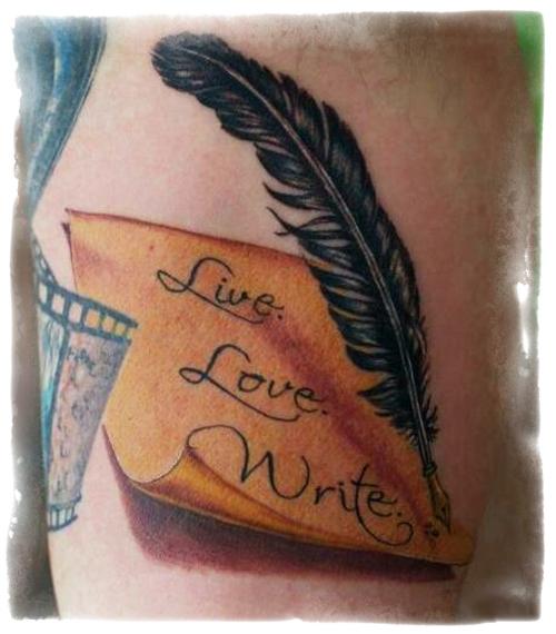 Live.  Love.  Write.
